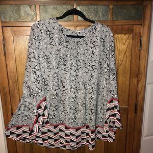 Women's Plus Size Dressy Blouse